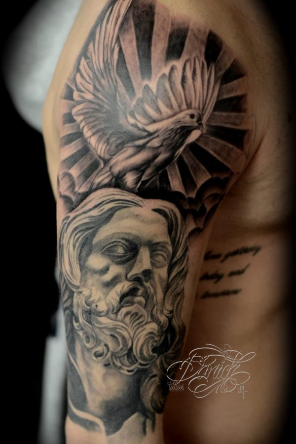 jesus dove daricktattoos