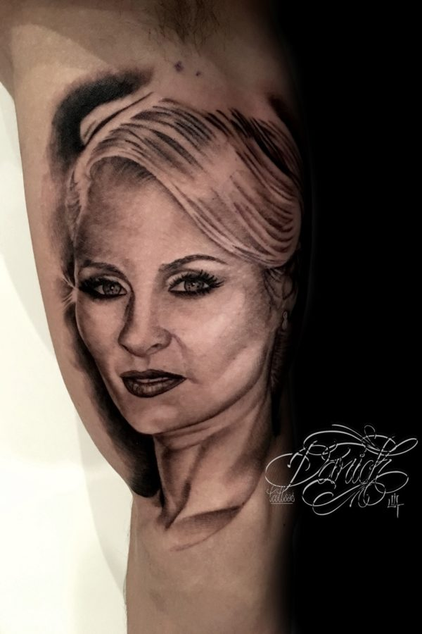 wife portrait daricktattoos