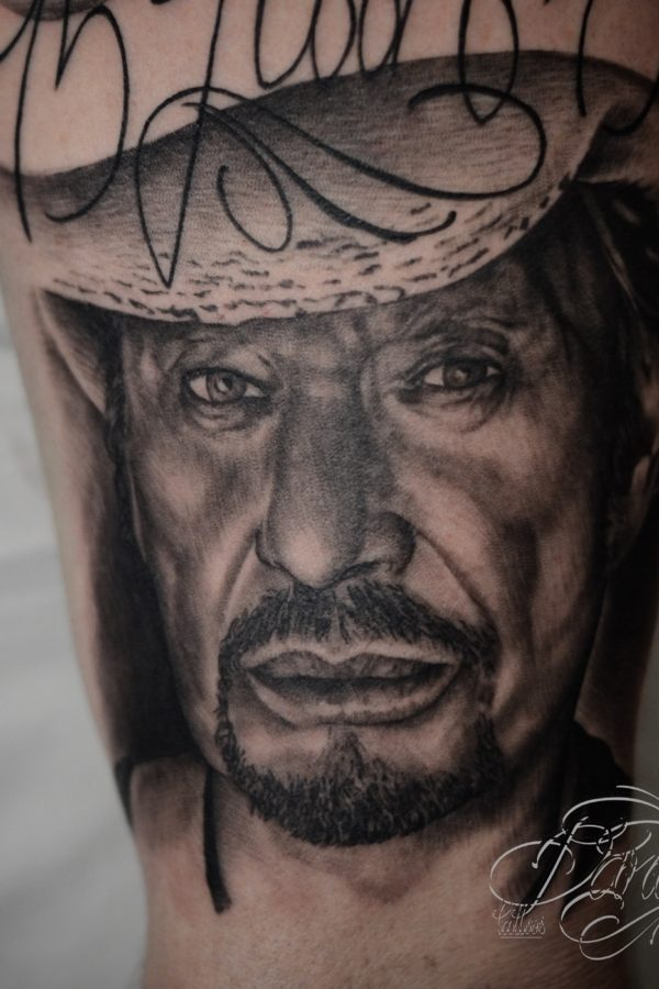 Tattoo Johny Halliday